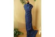 Kostýmovky - kostýmovka 100 modrá kostka