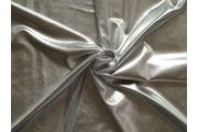 společenská látka metalic stříbrná