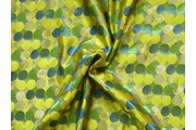 brokát lurex zelený