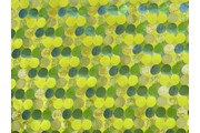 Brokáty - brokát lurex zelený