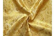 brokát 22 zlatý