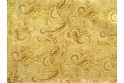 Brokáty - brokát 22 zlatý