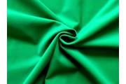 samet zelený